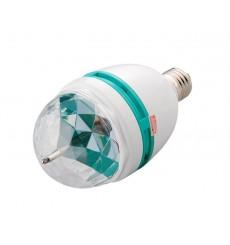 BOMBILLA LED 3W, E27 RGB EFECTO DISCO